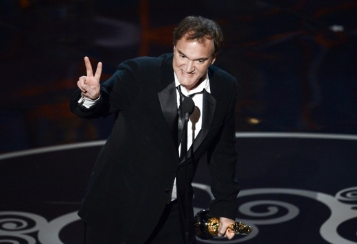 Quentin Tarantino wins best original screenplay for Django Unchained