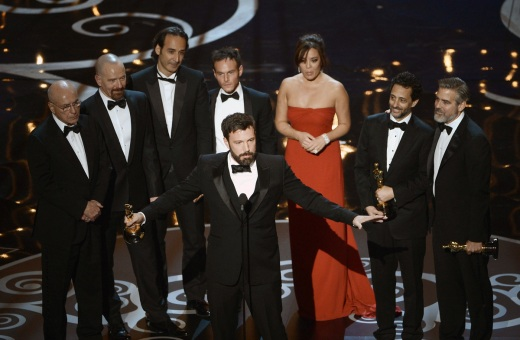 Argo Wins Best Picture 2013 Academy Awards
