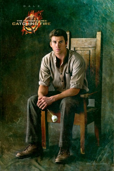 Liam Hemsworth Catching Fire