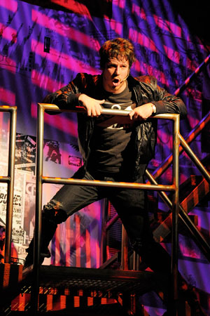 John Gallagher Jr. American Idiot