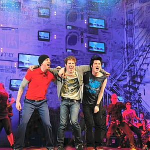 Stark Sand, Michael Esper and John Gallagher Jr. American Idiot