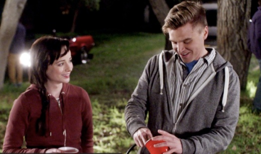 "Jenna (Ashley Rickards) and Jake (Brett Davern) Awkward episode ""Responsibly Irresponsible"" Keggers and Confessions"
