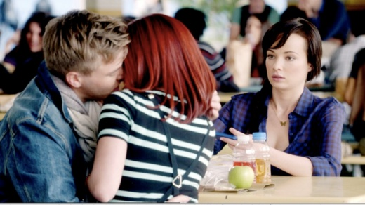 "Tamara (Jillian Rose Reed), Jake (Brett Davern) and Jenna (Ashley Rickards) Awkward Episdoe ""Cha-cha-cha-changes"" Jakara is born."